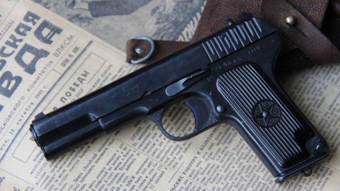 Пистолет ТТ. | Фото: YouTube.