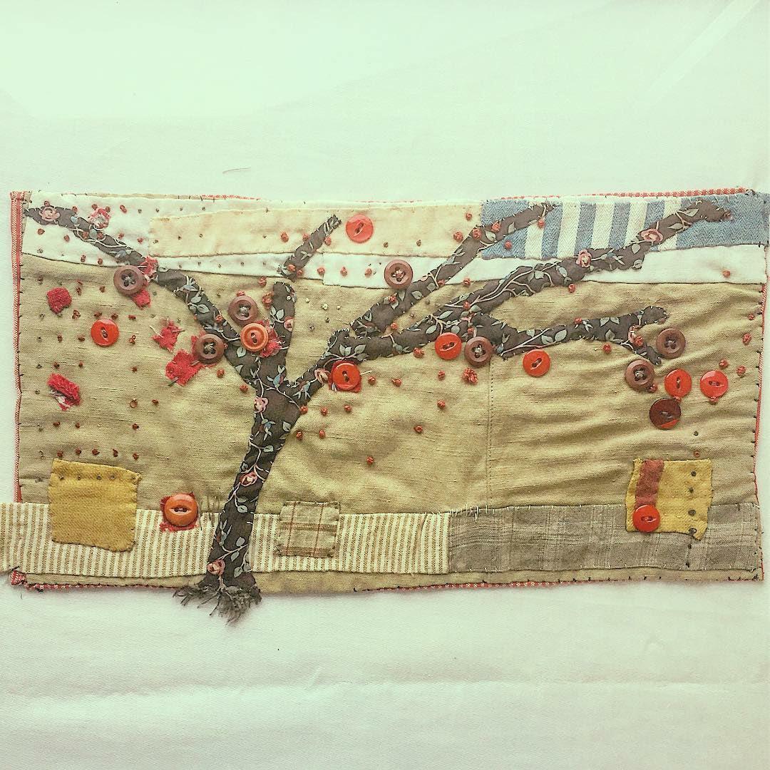 ♡ Наивно•примитивно•очаровательное) лоскутное шитьё,рукоделие,текстильный коллаж