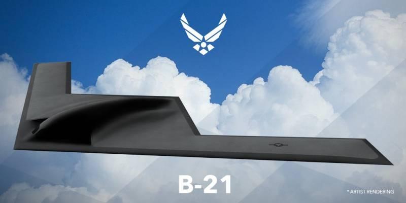 Бомбардировщик B-21 Raider. …