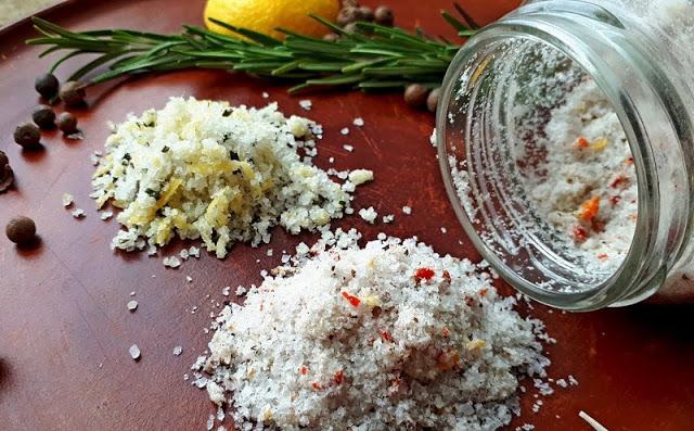 Как сделать ароматную соль