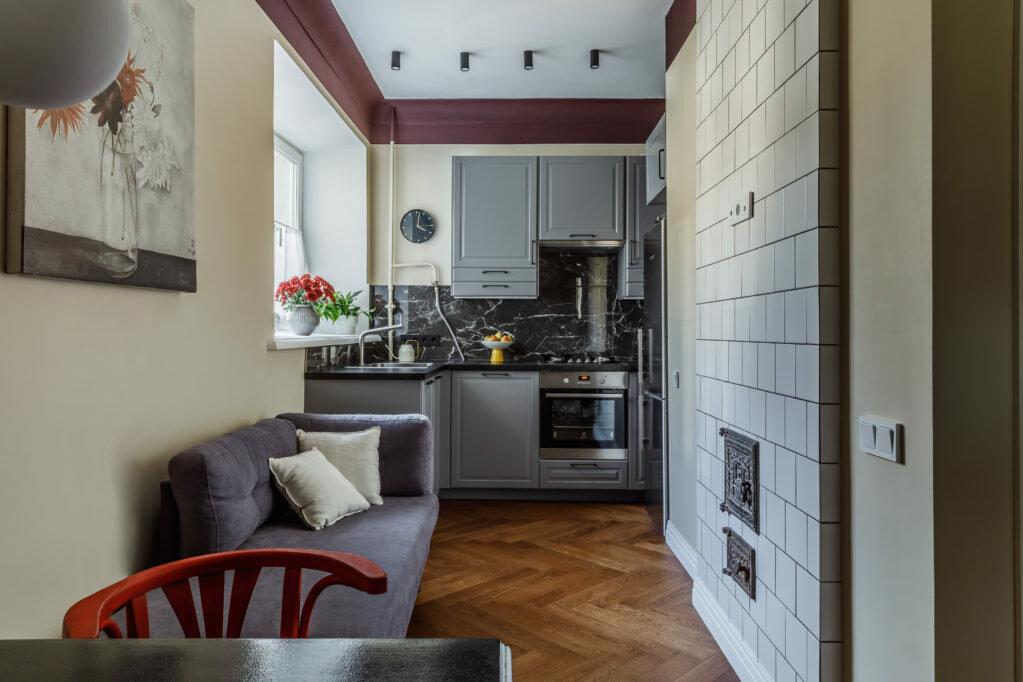 Квартира в конструктивистском доме, 33 м²