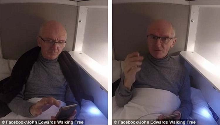Бывший наркоман похоронил себя заживо в гробу с Wi-Fi и электричеством wi-fi, гроб