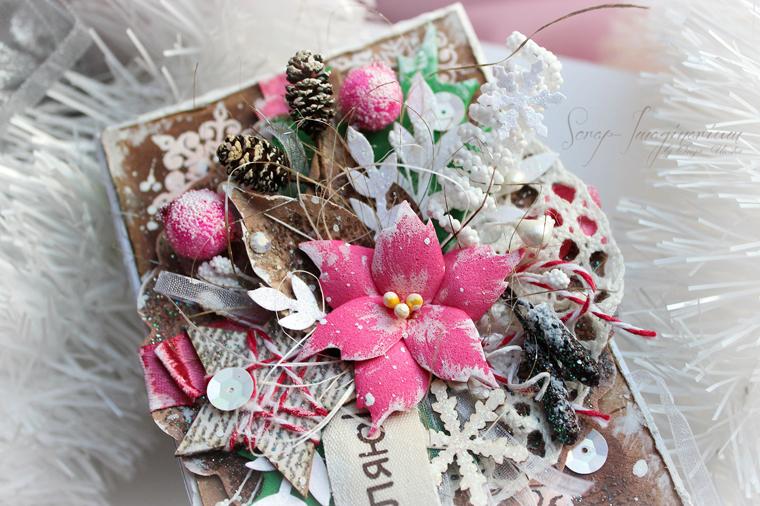 Чудеса скрапбукинга: волшебный мир открыток Ольги Кайновой вдохновляемся,скрапбукинг,творчество