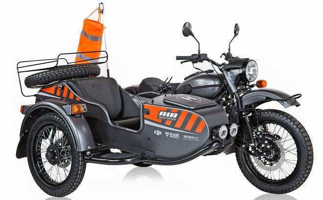 Новая модель мотоцикла «Урал» получит собственный встроенный беспилотник