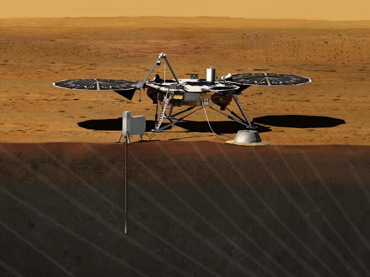 NASA покажет посадку на Марс…