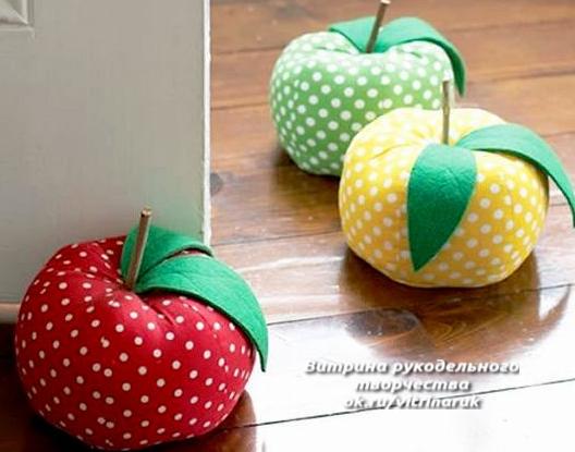 Декоративные подушки-фрукты. Идеи для тех, кто шьет и любит создавать уют в доме. мастер-классы,разное,шитье