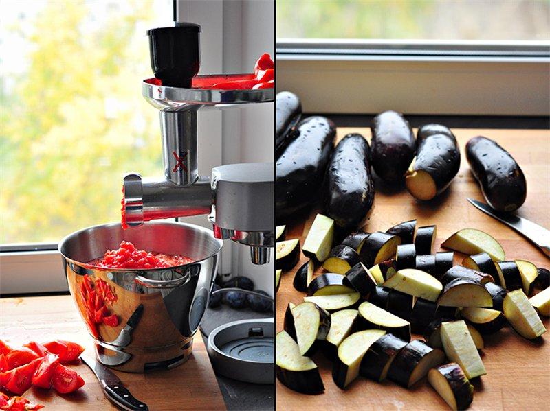 Баклажаны в томате на зиму заготовки,консервируем,кулинария