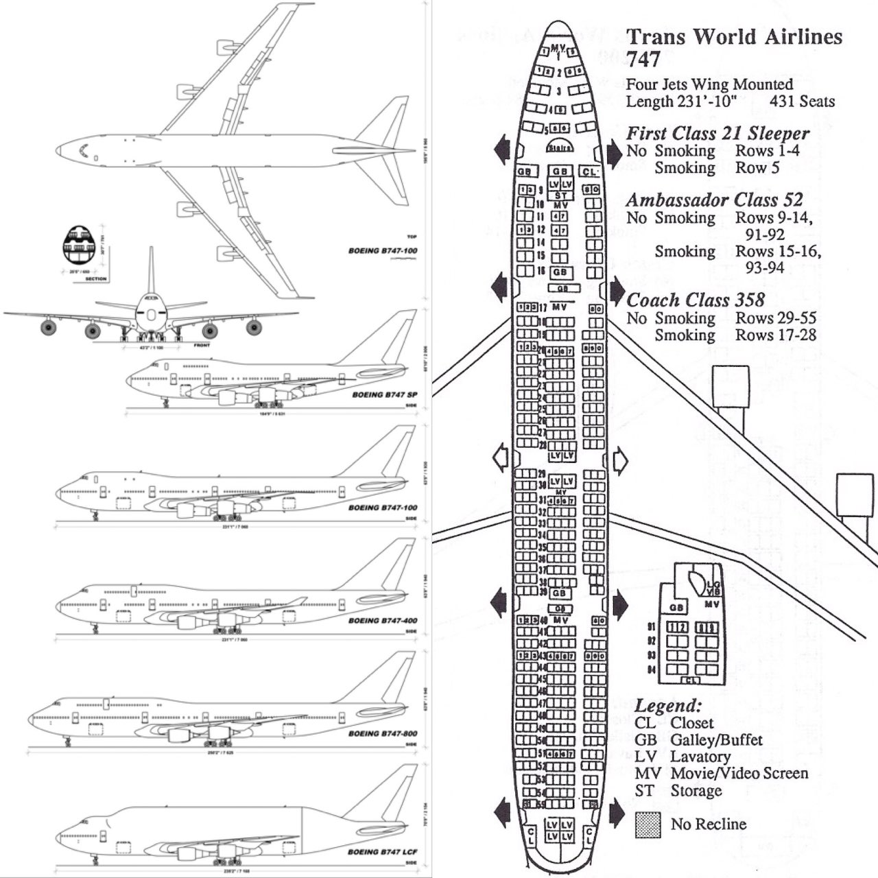 Queen of the Skies - 50. Boeing-747, он же Джамбо