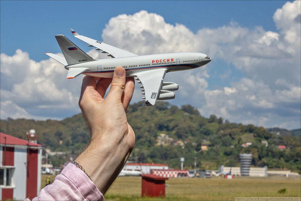 Споттинг в Сочи, посвящённый 75-летию аэропорта.