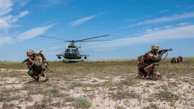 ВСУ совместно с войсками США и НАТО отработали наступление на учениях Rapid Trident – 2021 Армия
