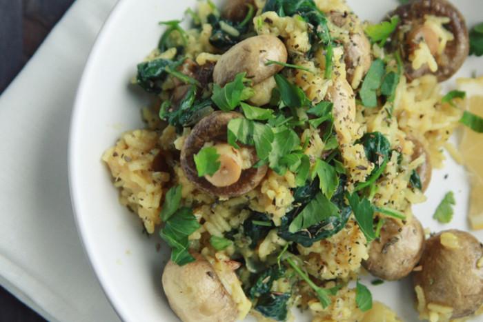 Рис грибами.  Фото: google.com.