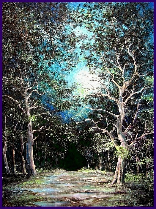 Потрясающие пейзажи художника из Павлодара Колодина Александра Ивановича живопись,природа