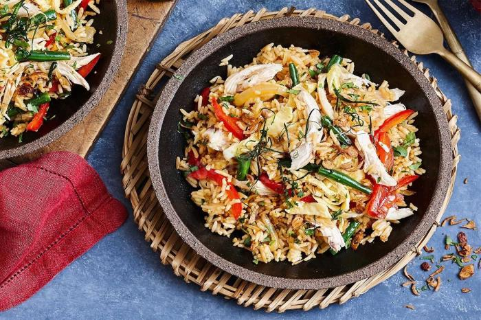 Рис по-тайски.  Фото: 1000.menu.