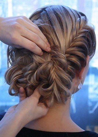 Делаем красивую причёску