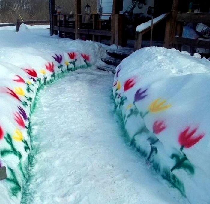 Суровая русская весна в фотографиях