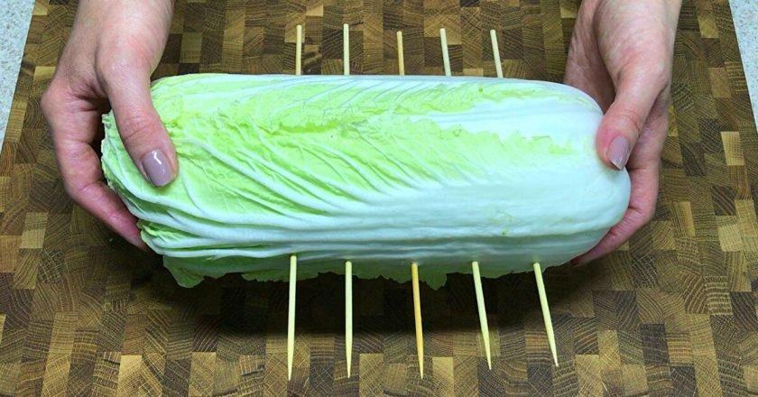 свежая пекинская капуста