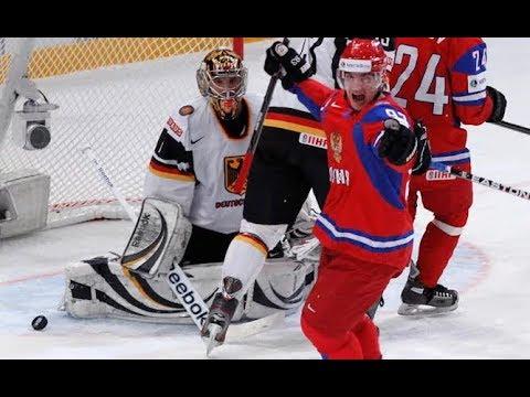 Россия - Германия хоккей прямая трансляция 2018 финал Олимпиада