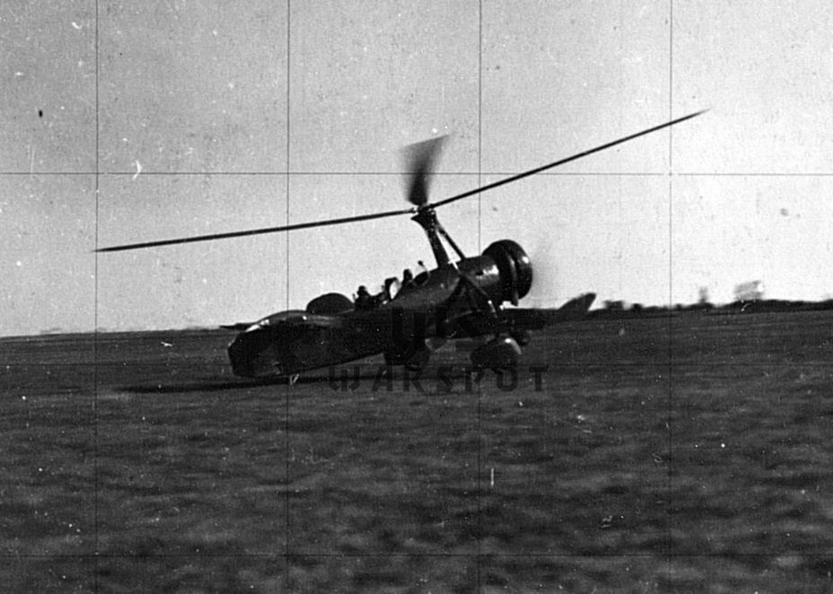 Момент взлёта. Особенности автожира позволяли ему взлетать и садиться с площадок длиной всего 50 метров - Летающие глаза артиллерии | Warspot.ru
