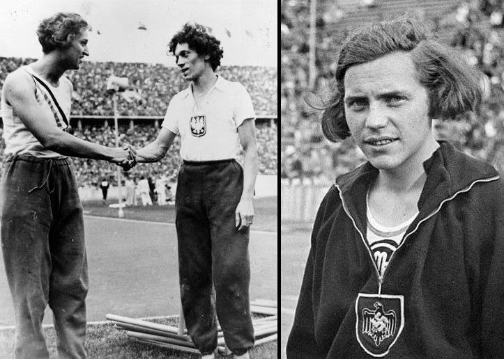 Реальная история немецкой чемпионки, которая до 19 лет носила платья, а оказалась… парнем. Фото до разоблачения Ратьен, мужчина, Германии, рекорд, мировой, Олимпиаде, история, просто, жизнь, сборную, карьера, прыжкам, высоту, соревнованиях, арестовали, женскую, полицейский, когда, обособленно, держалась