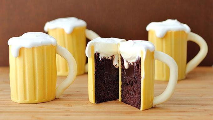 Кулинарный креатив: съедобные пивные кружки — пошаговый рецепт с фото