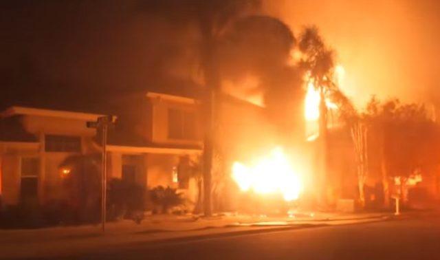 Пожар в Калифорнии могли бы …
