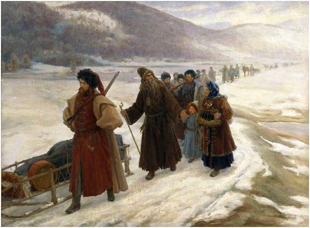 Как русский народ принесли в…