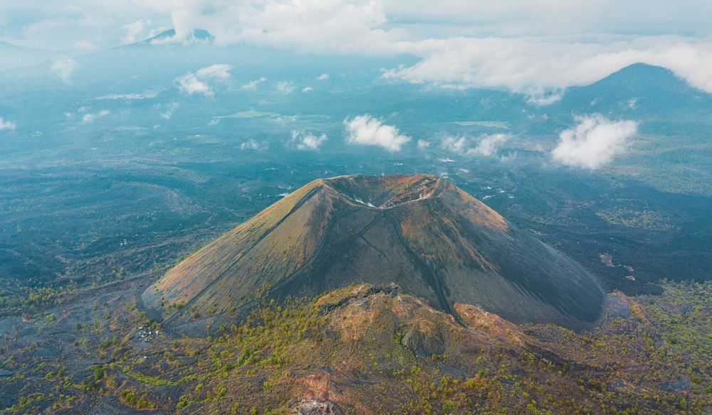 Парикутин — вулкан, который вырос за два дня на кукурузном поле вулканы,катастрофы,природа,происшествия