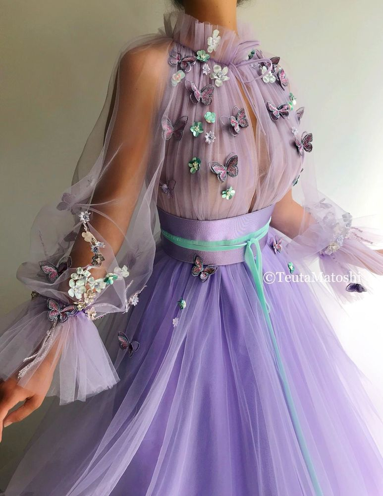 Непростой путь к мечте Теуты Матоши 20+ сказочных платьев бренда euta atoshi, фото № 21