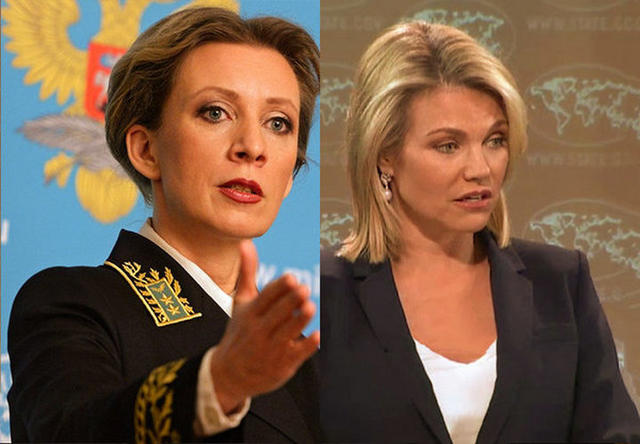 Иностранцы о жесткой речи Марии Захаровой