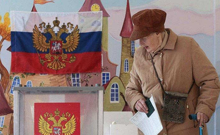 Британская пресса: российских избирателей загоняли на выборы танками и планшетами