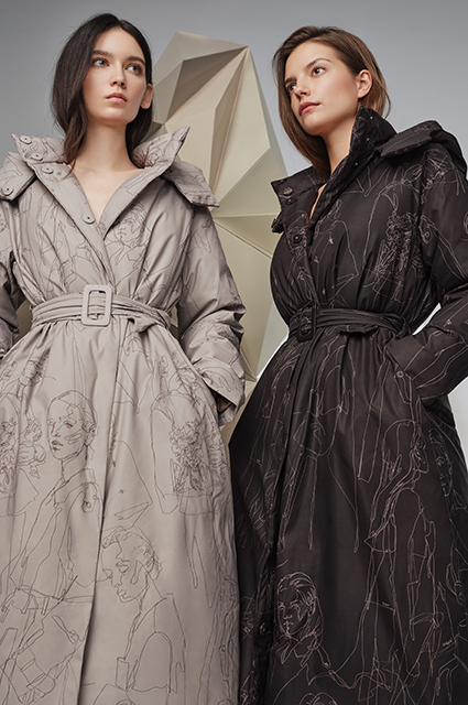 Пуховики, пальто и трикотаж: смотрим новые лукбуки и готовимся к холодам Лукбук