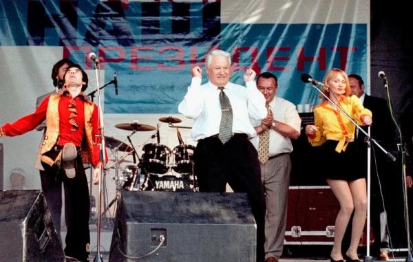 Алёна Апина рассказала о роли поп-звёзд в победе Ельцина на выборах в 1996 году