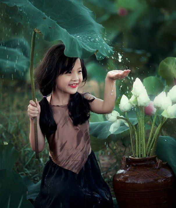6. Девочка под дождем за кадром, кадры, неожиданно, постановка, постановочные фото, секреты, фото, фотограф