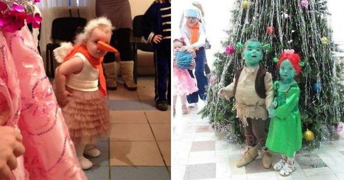 20 новогодних костюмов, за которые дети когда-нибудь отомстят родителям!