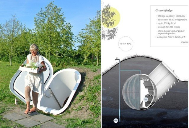 Голландский дизайнер заново изобрела погреб