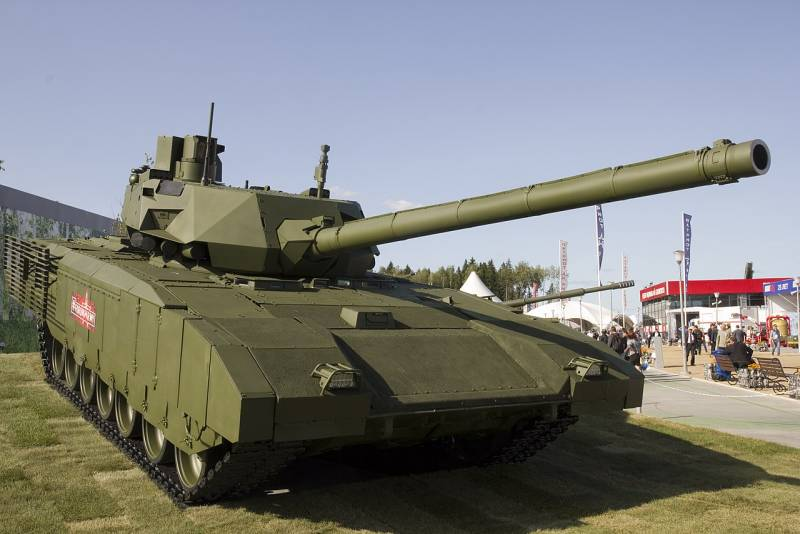 Т-14 против M1A2C/D. Разница подходов к разработке оружие,танки