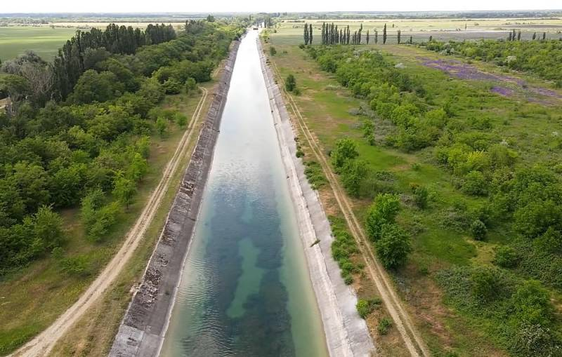 Нужна ли Крыму токсичная днепровская вода?