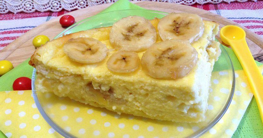 Банановая запеканка: блюдо для тех, кто следит за фигурой