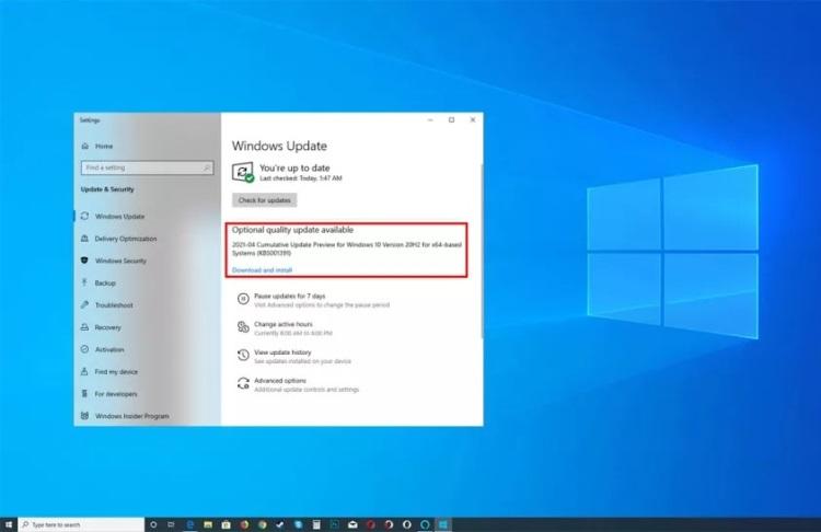 Новое накопительное обновление Windows 10 исправит аномально высокую загрузку CPU на некоторых компьютерах