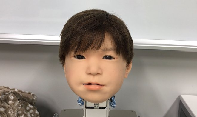 Affetto – японский робот-ребенок из ночных кошмаров