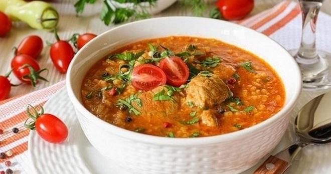 Суп харчо в домашних условиях - рецепт приготовления вкуснейшего грузинского блюда