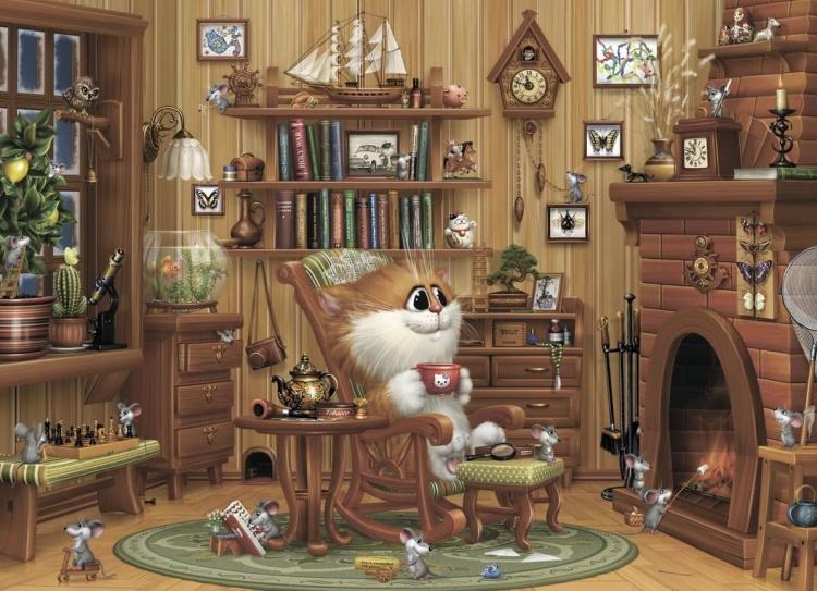 коты Алексея Долотова – 01