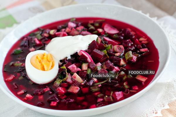 Холодный свекольный суп (этап 8)