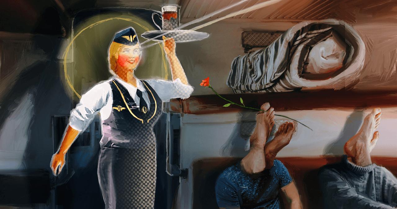 Как РЖД сделали меня настоящей русской женщиной