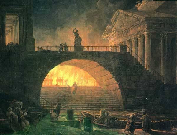 Пожарные Древнего Рима. Часть 1
