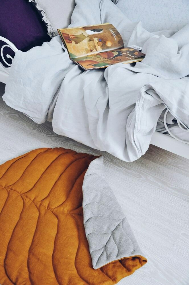 Стёганый коврик в скандинавском стиле