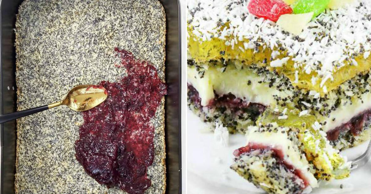 маковый десерт