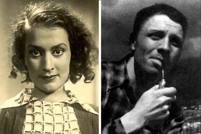Нина Алисова и Валентин Кадочников, родители актрисы.