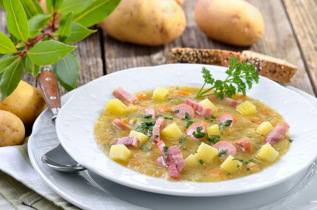 Как правильно приготовить гороховый суп