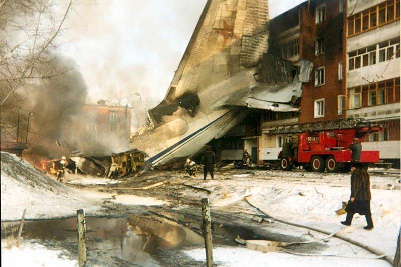 Смерть весом в 350 тонн: как в России на жилой район рухнул самолет-гигант